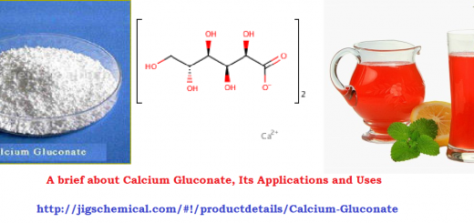 A brief about Calcium Gluconate, Its Applications and Uses