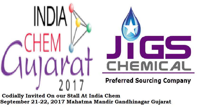 India Chem Participation September 21-22, 2017 Gandhinagar