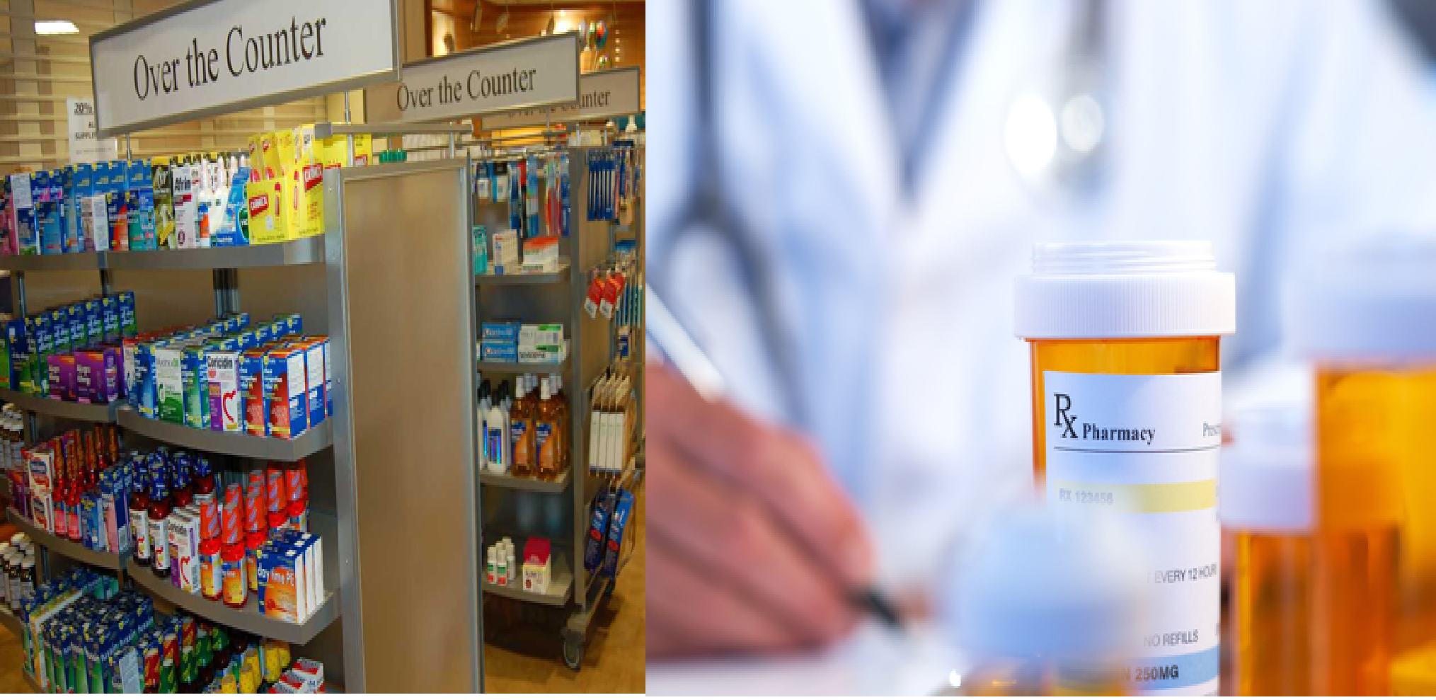 Prescription Drugs Vs. Over-the-Counter (OTC) Drugs