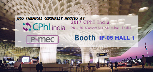 CPHI INDIA 2017, JIGS CHEMICAL PARTICIPENT