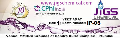 CPHI INDIA JIGS CHEMICAL